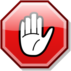Stop hand