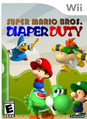 Super Mario Bros Diaper Duty