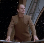 Odo smiling