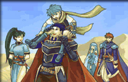 Hector, Lyn, Nils, Ninian, Eliwood