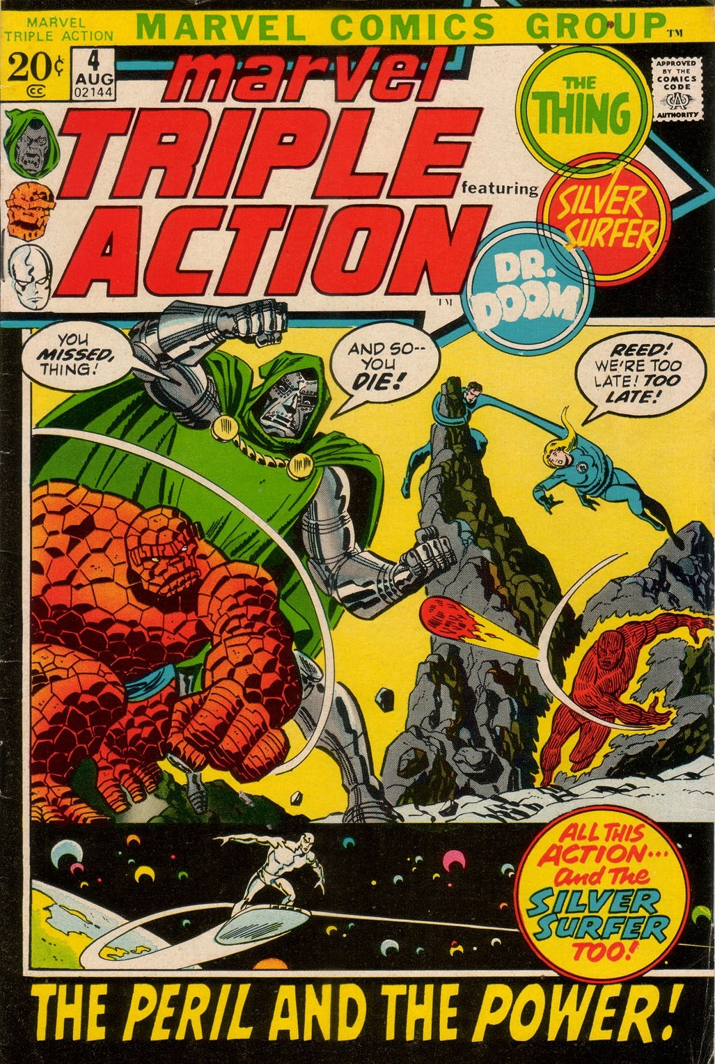 Marvel Triple Action Vol 1 4