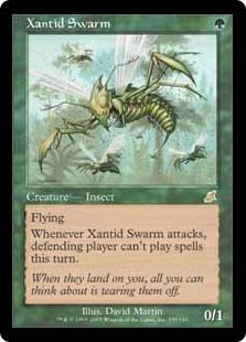 Xantid Swarm The Magic The Gathering Wiki Magic The