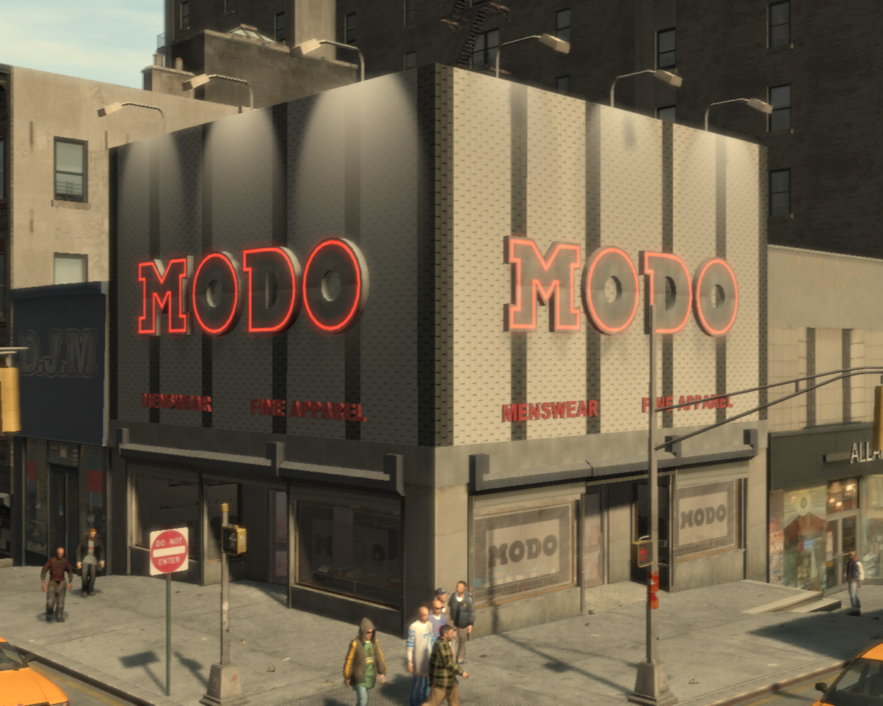 Grand Theft Auto Iv Clothes Stores