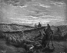 Abraham Journeying into the Land of Canaan
