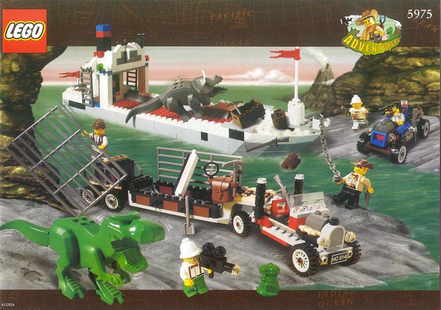 Adventurers (1998-2000, 2003) Dino