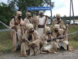 Tusken riders on kenobis street