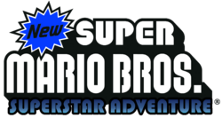 NSMB Superstar Adventure Logo