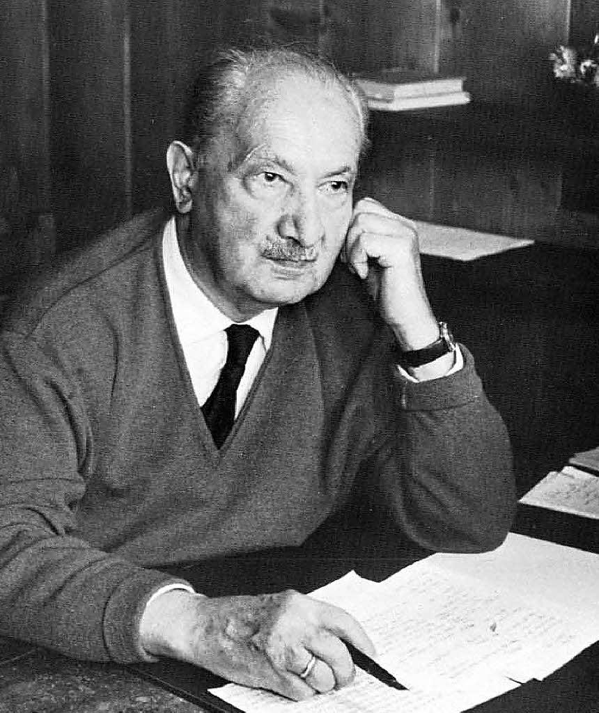 Martin Heidegger Die Kunst Und Der Raum