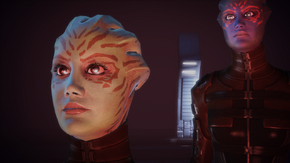Asari Commander