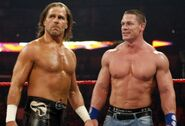 Cena&amp;Michaels RAW 5.1.09
