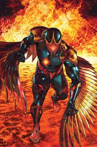 War of Kings Darkhawk Vol 1 2 Textless