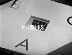 Final test