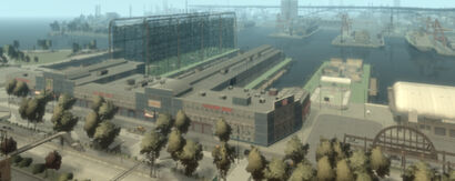 Golden Pier (GTA4) (exterior, southwestwards)