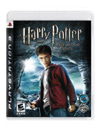 Half-Blood Prince video game Playstation 3 cover art