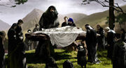 Dumbledore funeral
