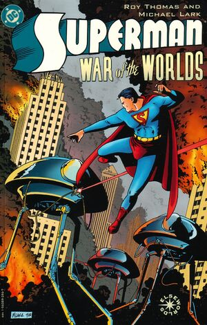 Cover for Superman: War of the Worlds #1