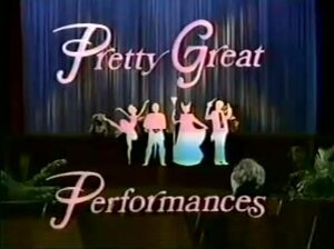 Pretty Great Performances title card