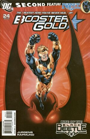Cover for Booster Gold #24