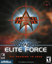 Star Trek - Voyager – Elite Force Cover