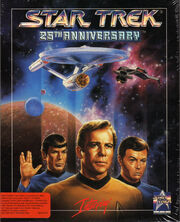 Star Trek - 25th Anniversary Cover der PC Version