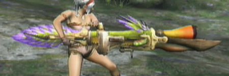 liste des armes de monster hunter tri PeccoBowgun
