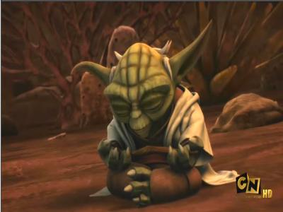 File:Yoda battle meditation.jpg - The Non-Canon Star Wars Wiki