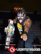Mini Damian 666 CMLL World Minis