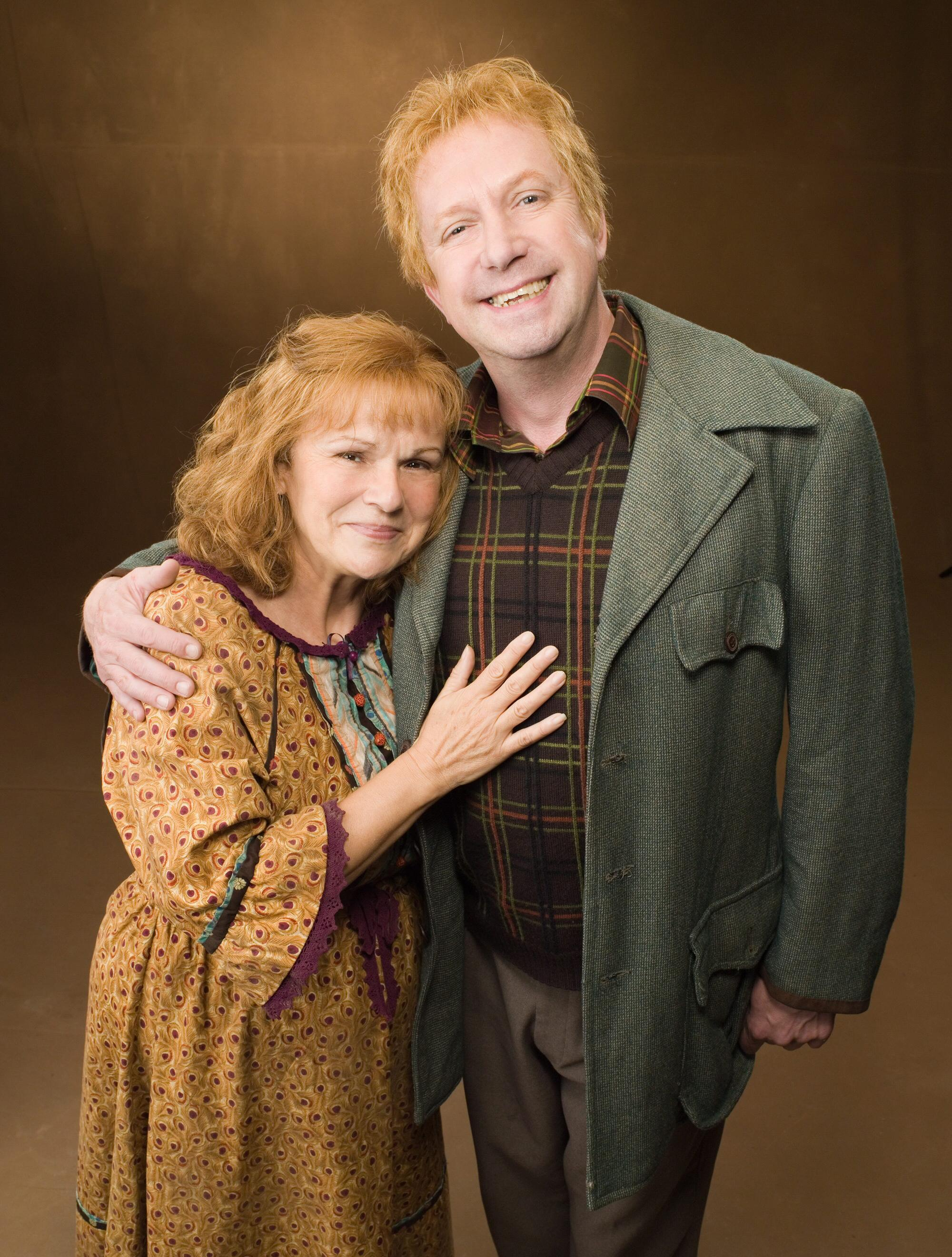 Molly Weasley And Harry Potter