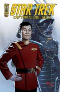 Captain's Log Sulu cover