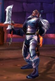 Death Knight Captain old