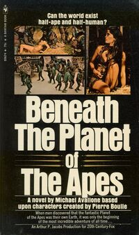 Beneath the Planet of the Apes Novelization1