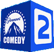 Paramount Comedy 2 logo 2004