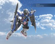 GN-001 Gundam Exia Sky Wallpaper