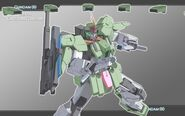 GN-006 Cherudim Gundam Shield Bits Wallpaper