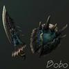 liste des armes de monster hunter tri 100px-Dosbagii-Knife
