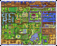 Koholint Island Coordinate Map