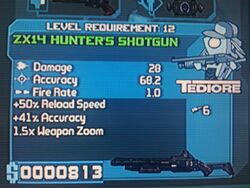 Tedior ZX14 Hunter&#39;s Shotgun