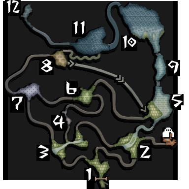 Map : L'île déserte SolitaryIsland