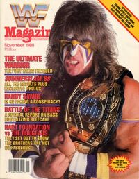 WWF Magazine November 1988