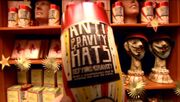 Anti-Gravity Hats (Weasleys&#39; Wizard Wheezes product)