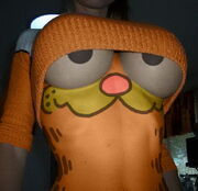 Garfield body