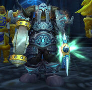 Muradin Bronzebeard at Light&#39;s Hammer
