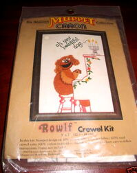 1980 rowlf crewel kit