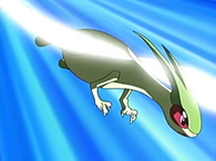 EP459 Flygon usando ala de acero