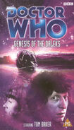 Genesis of the daleks rerelease uk vhs