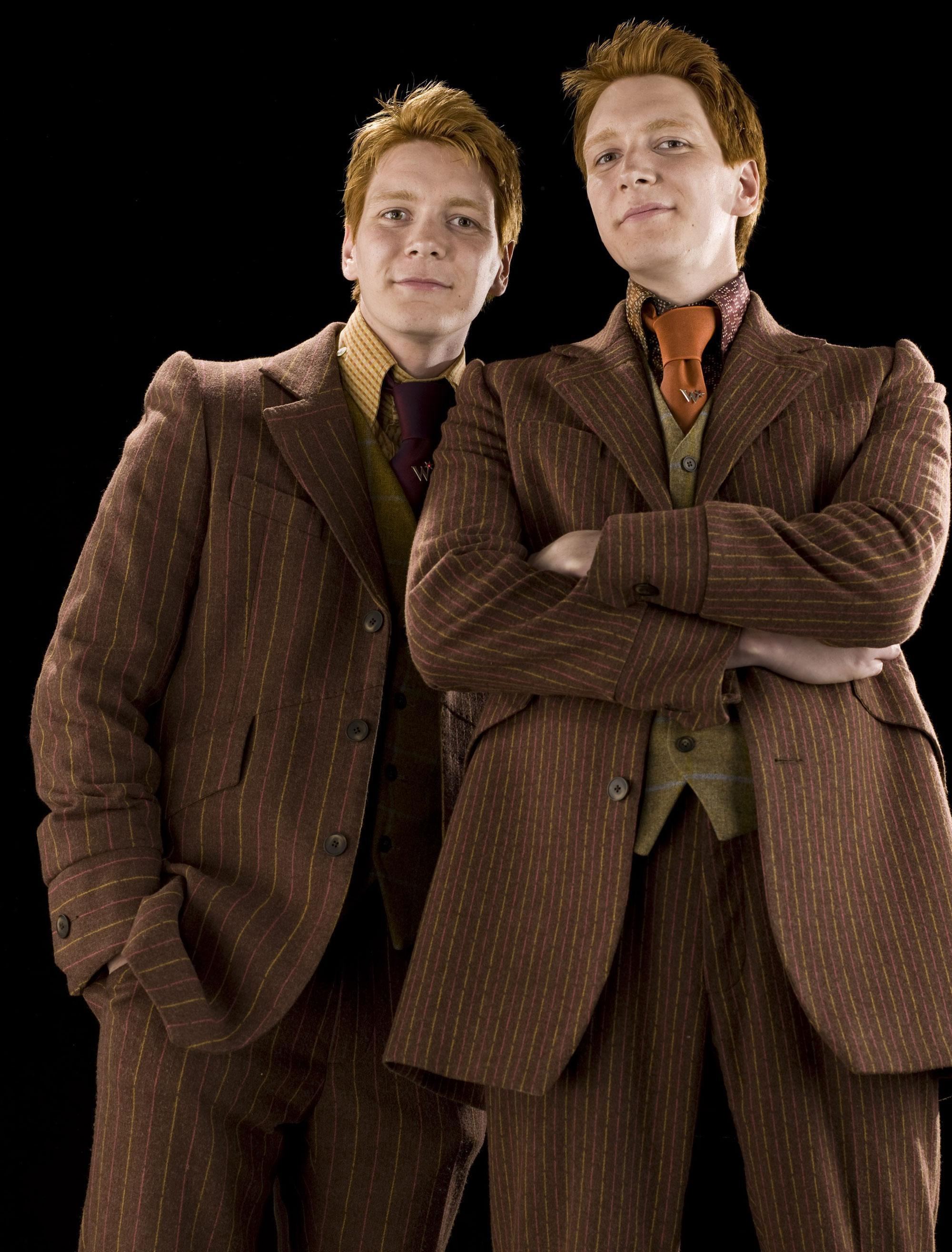 Personality ... MBTI Enneagram Fred and George Weasley ... loading picture