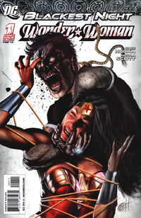 Blackest Night Wonder Woman Vol 1 1