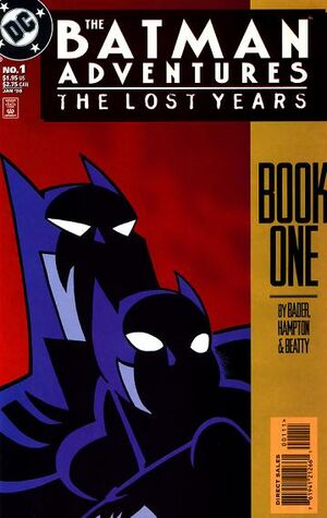 Cover for Batman Adventures: The Lost Years #1