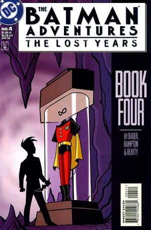 Cover for Batman Adventures: The Lost Years #4