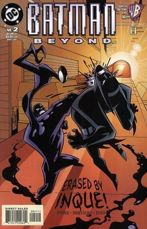 Cover for Batman Beyond #2